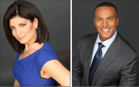 Tamsen Fadal and Mike Woods Headshots