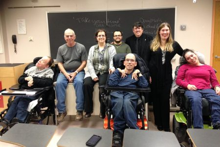 Disabilities Class at College of Staten Island